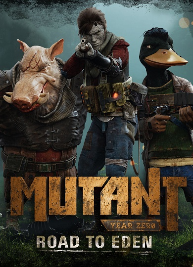 Обложка Mutant Year Zero: Road to Eden (2018)