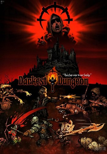 Обложка Darkest Dungeon (2017)