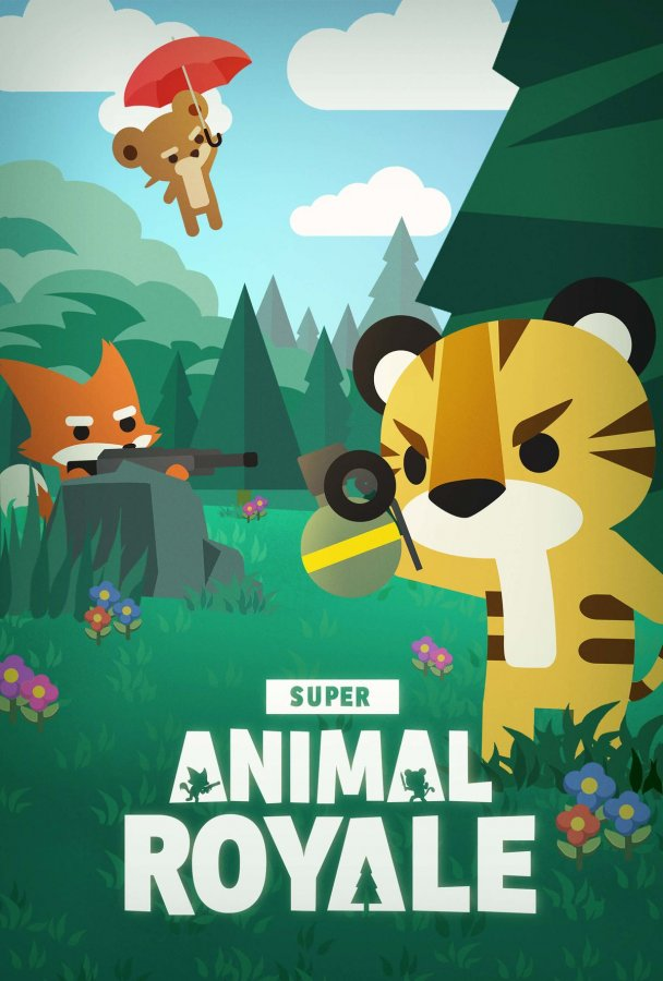 Обложка Super Animal Royale