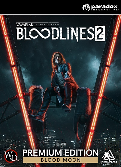 Обложка Vampire: The Masquerade - Bloodlines