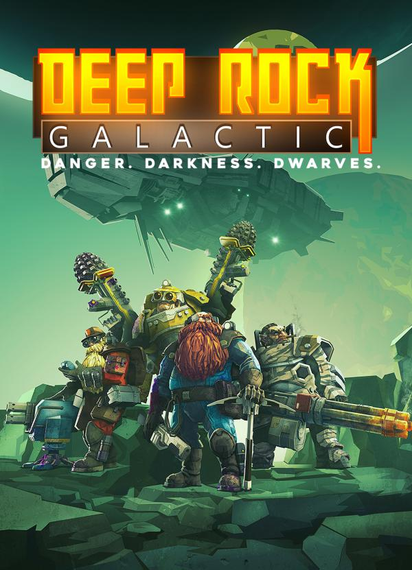 Обложка Deep Rock Galactic