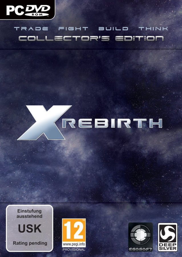 Обложка X Rebirth: Collector's Edition (2013)