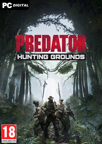 Обложка Predator: Hunting Grounds